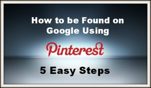 Pinterest SEO-5 Easy Steps
